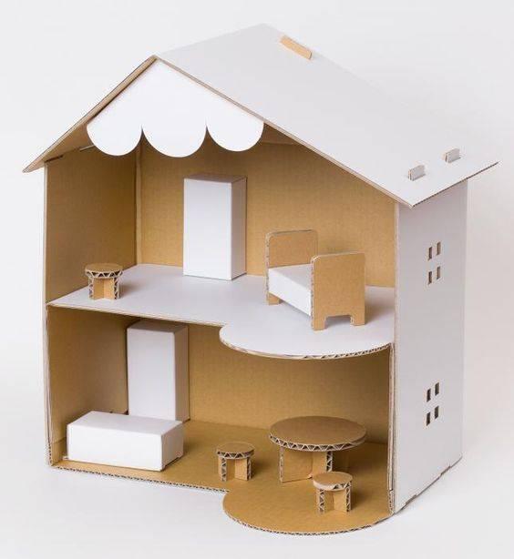 Кукольный домик своими руками: выбор материалов, подготовка схемы, пошаговый план работы