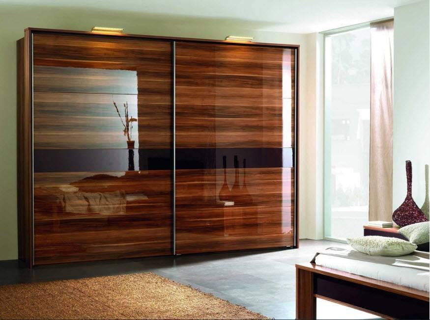 Гардеробная в спальне — примеры идеального размещения и сочетания гардероба в интерьере спальни (100 фото)