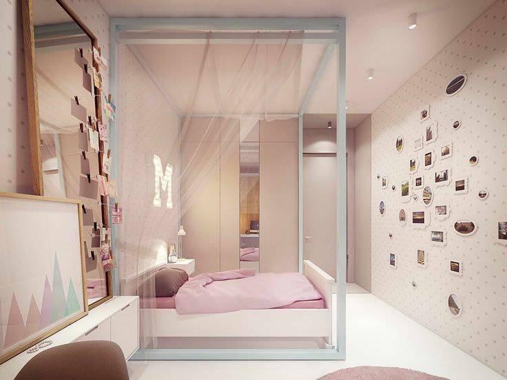Идеи интерьера комнаты девочки-подростка 16 лет
