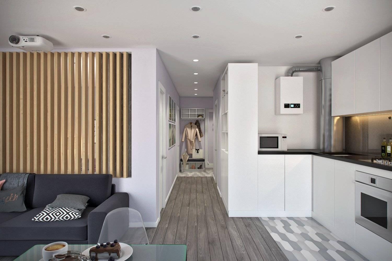 Дизайн интерьера квартиры 45 кв. м