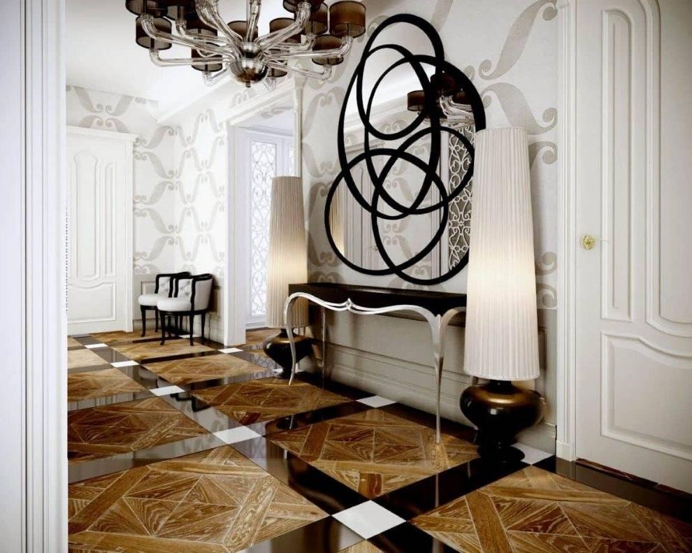 Гостиная в стиле арт-деко - 70 фото стильного дизайна.