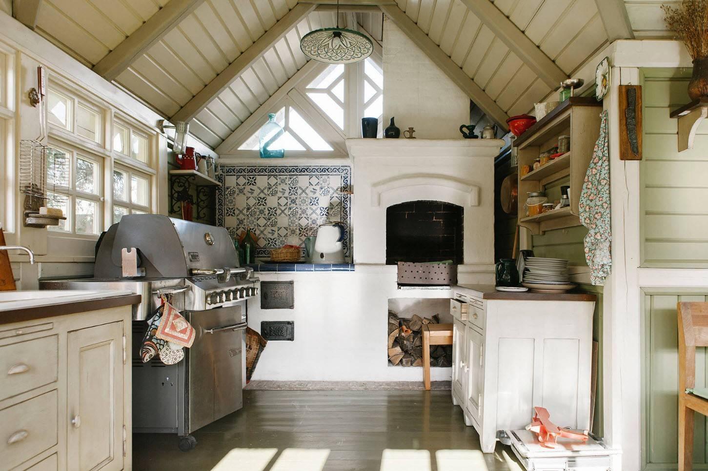 Летняя кухня на даче: проекты, фото, рекомендации – свой дом мечты