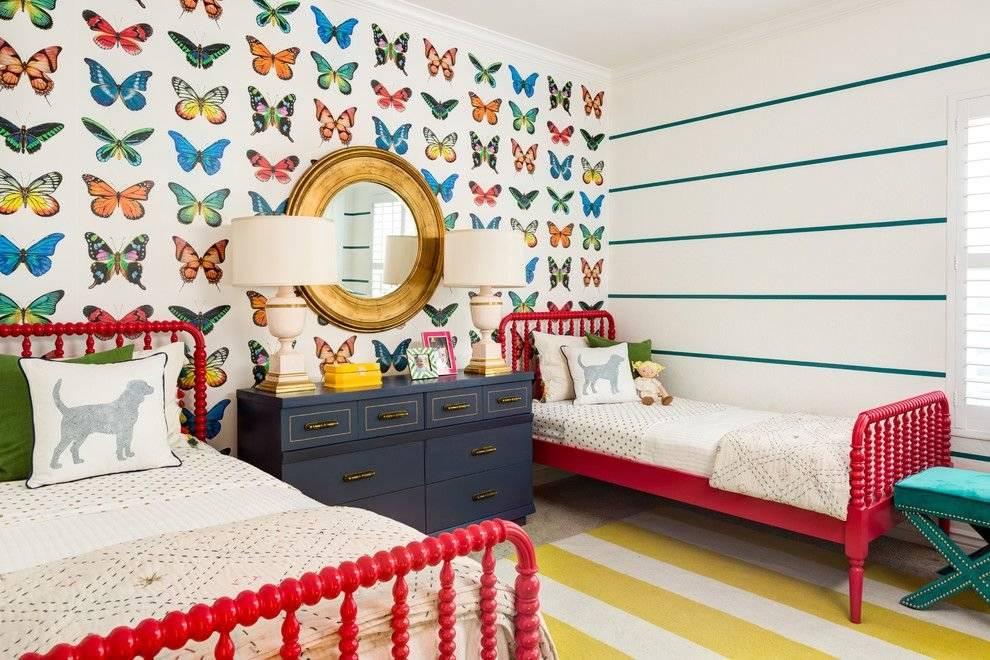 Фотографии вариантов выбора стиля и дизайна обоев для детской комнаты