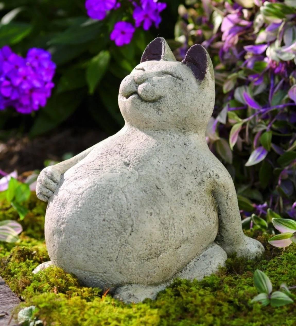 Как сделать садовые фигуры своими руками (60 фото)