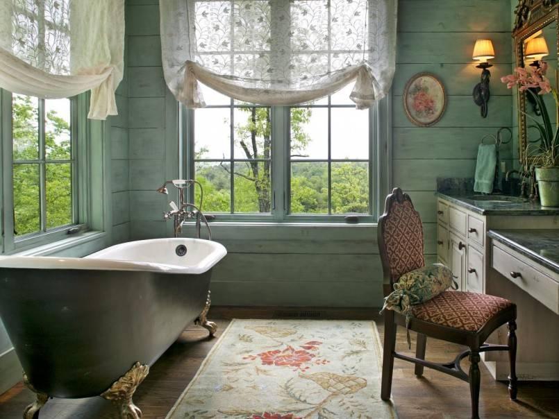 Шторка для ванной — новинки сезона и современные сочетания с дизайном ванной комнаты (110 фото)