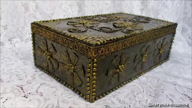 Декор шкатулки - идеи декорирования и украшения шкатулок (85 фото + видео)