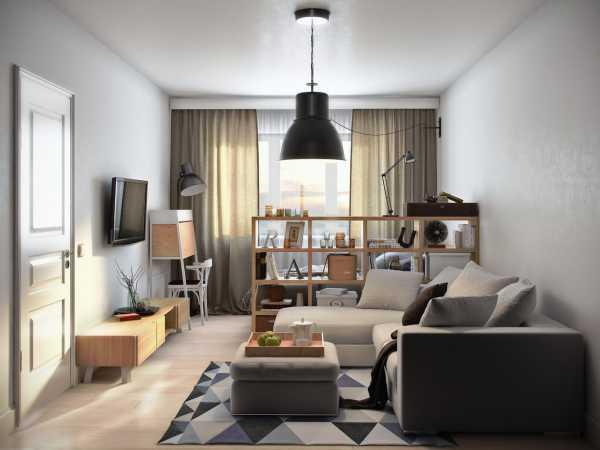 Дизайн однокомнатной квартиры 45 кв. м. 5 фото – проектов