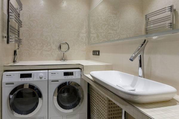 Дизайн интерьера ванной комнаты с площадью 5,5 кв м