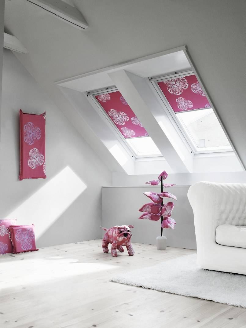 Красивые шторы на мансардные окна: 5 критериев выбора