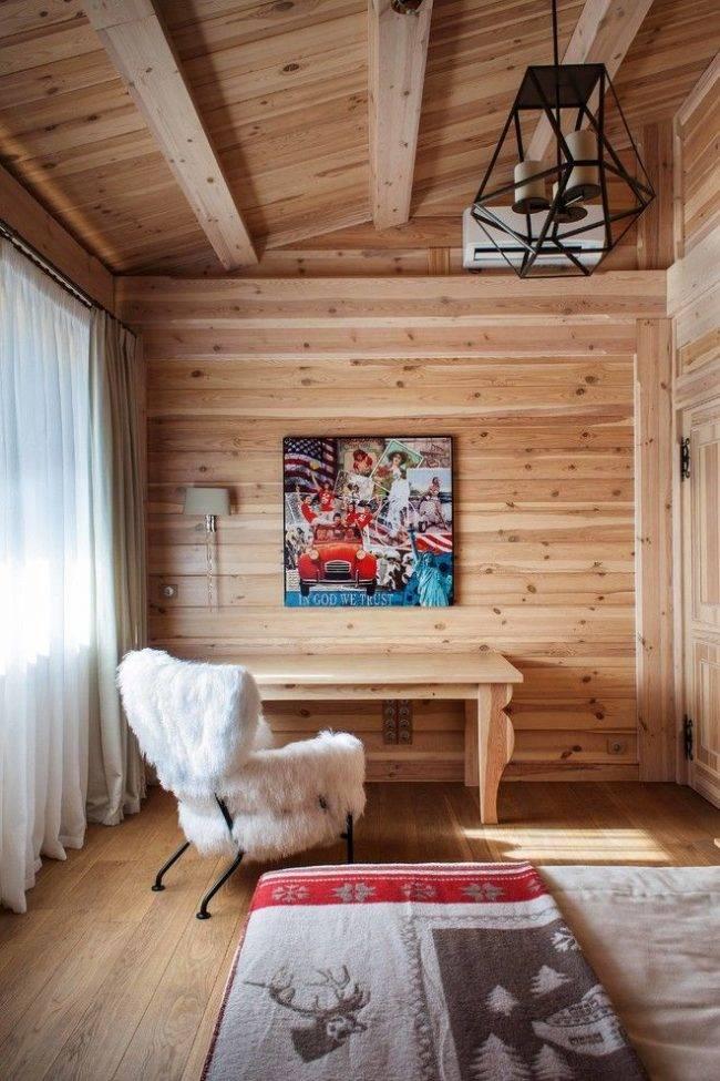 Сочетание штор и обоев в интерьере: 75 фото, советы, видео