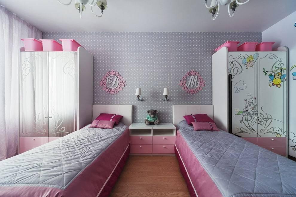 Детская для двух девочек: дизайн интерьера комнаты для девочек разного возраста