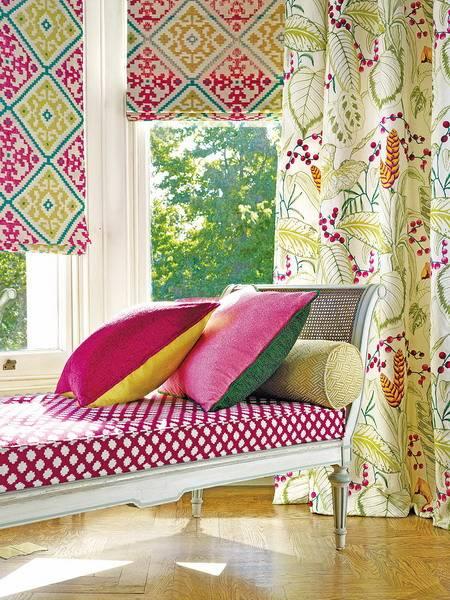 Текстиль в интерьере: правила отделки стен тканью