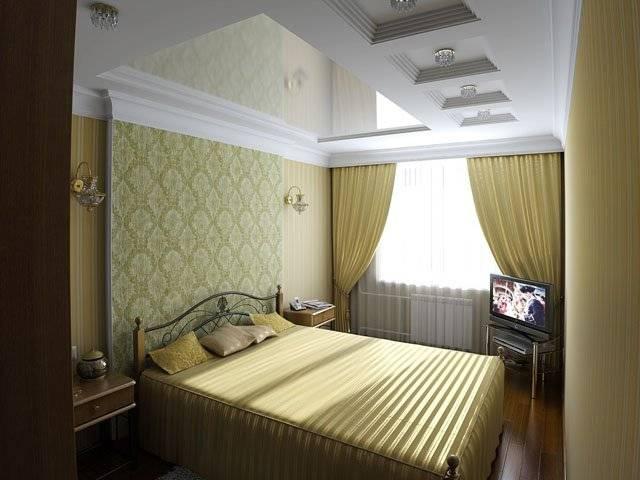 Спальня 3 на 3 — лучшие варианты зонирования, планировки и дизайна маленькой спальни 9 м²