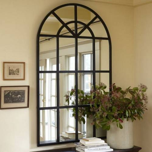 Межкомнатные окна в интерьере - фото, идеи, примеры
