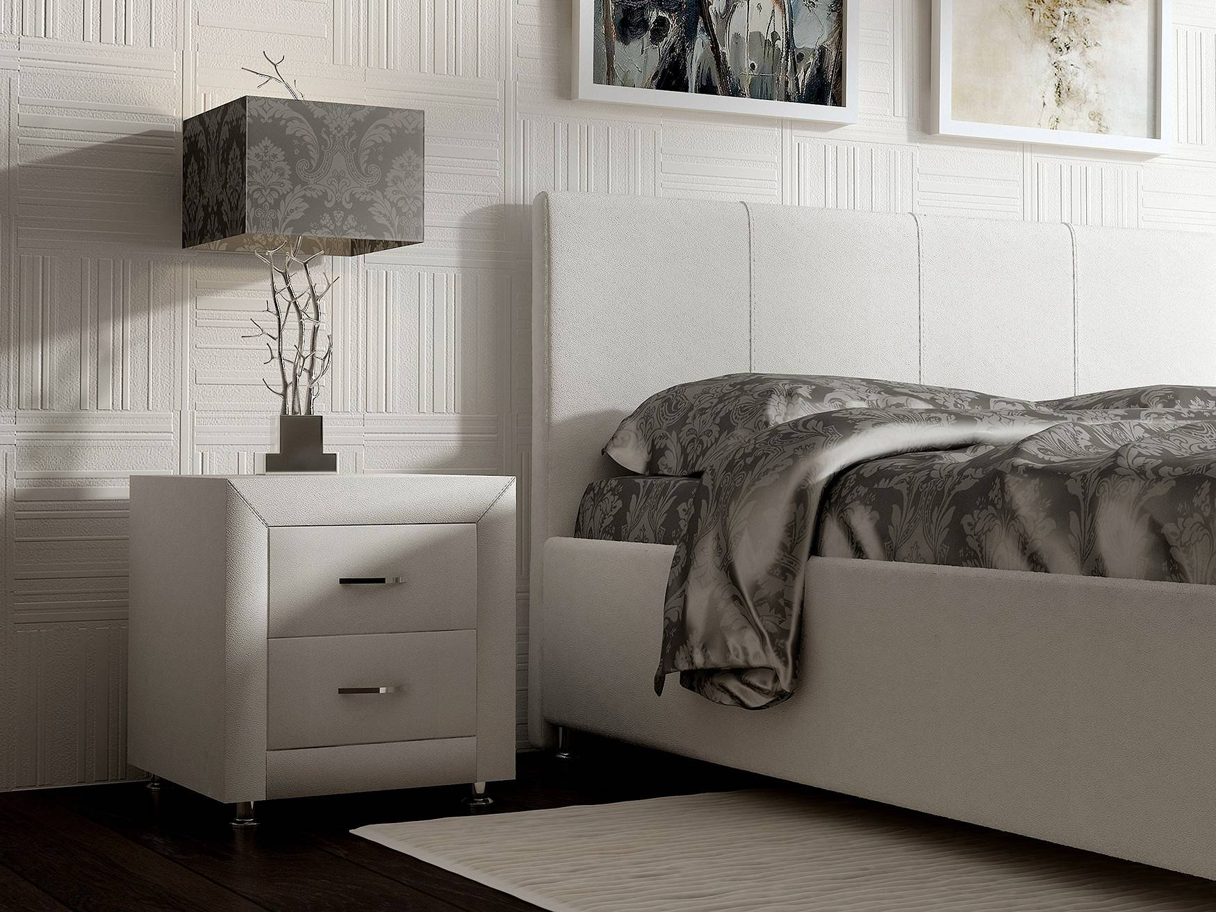 Стандартные размеры прикроватных тумб для спальных комнат