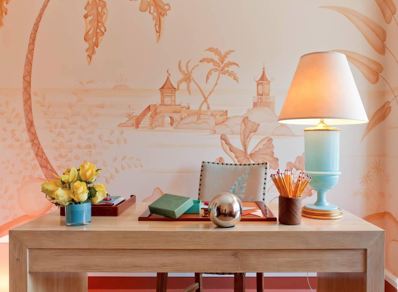 Персиковый цвет в интерьере – варианты для позитивного настроения