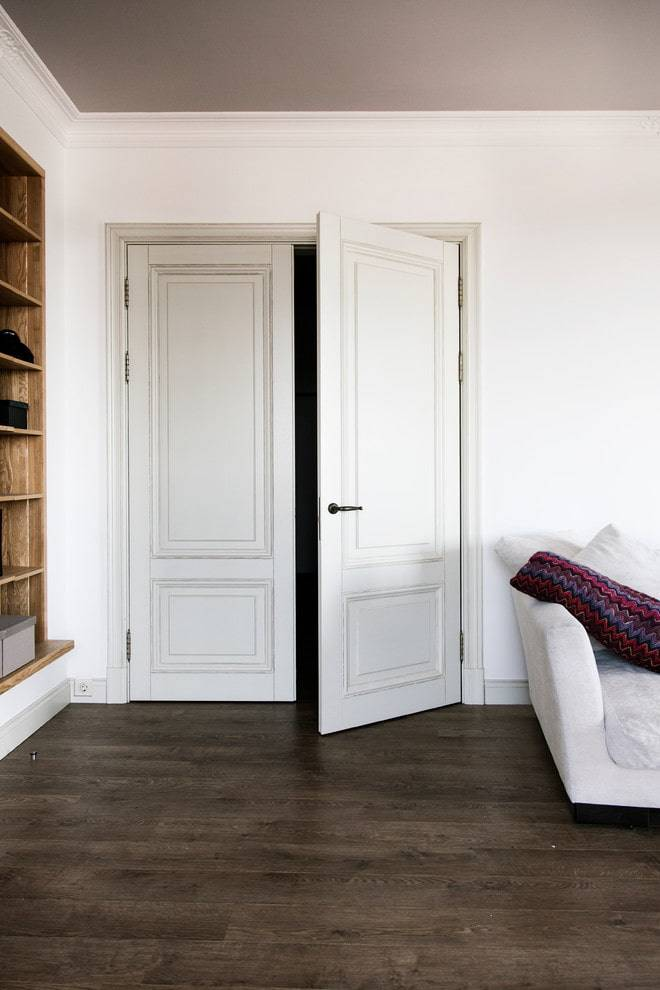 Цвет межкомнатной двери: как сделать правильный выбор