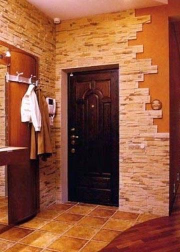 Пошаговая инструкция отделки прихожей декоративным камнем. полезные советы