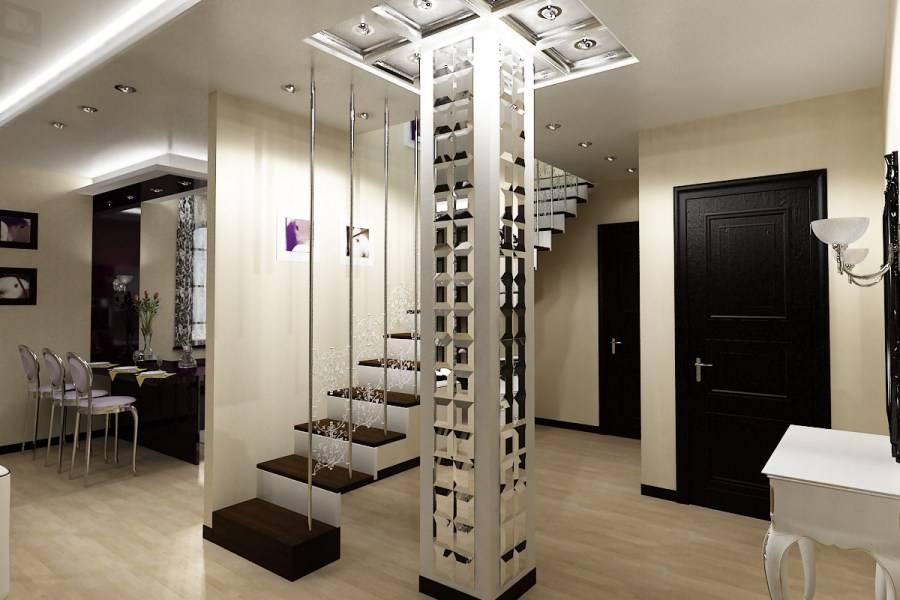 Декоративные колонны: из пенопласта и пластиковые фальш-колонны в интерьере дома, деревянные и из бетона