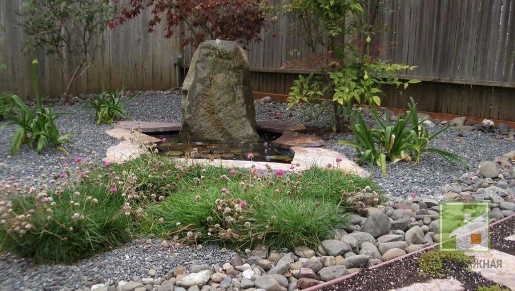 Камни для ландшафтного дизайна - 135 фото и советы по выбору!