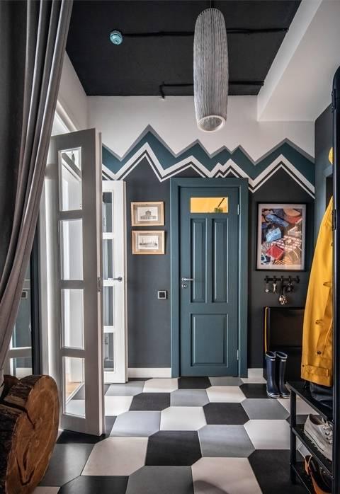 Пол в прихожей (62 фото): дизайн паркетной доски в коридоре. какие напольные покрытия лучше постелить в прихожей? комбинированный материал в интерьере