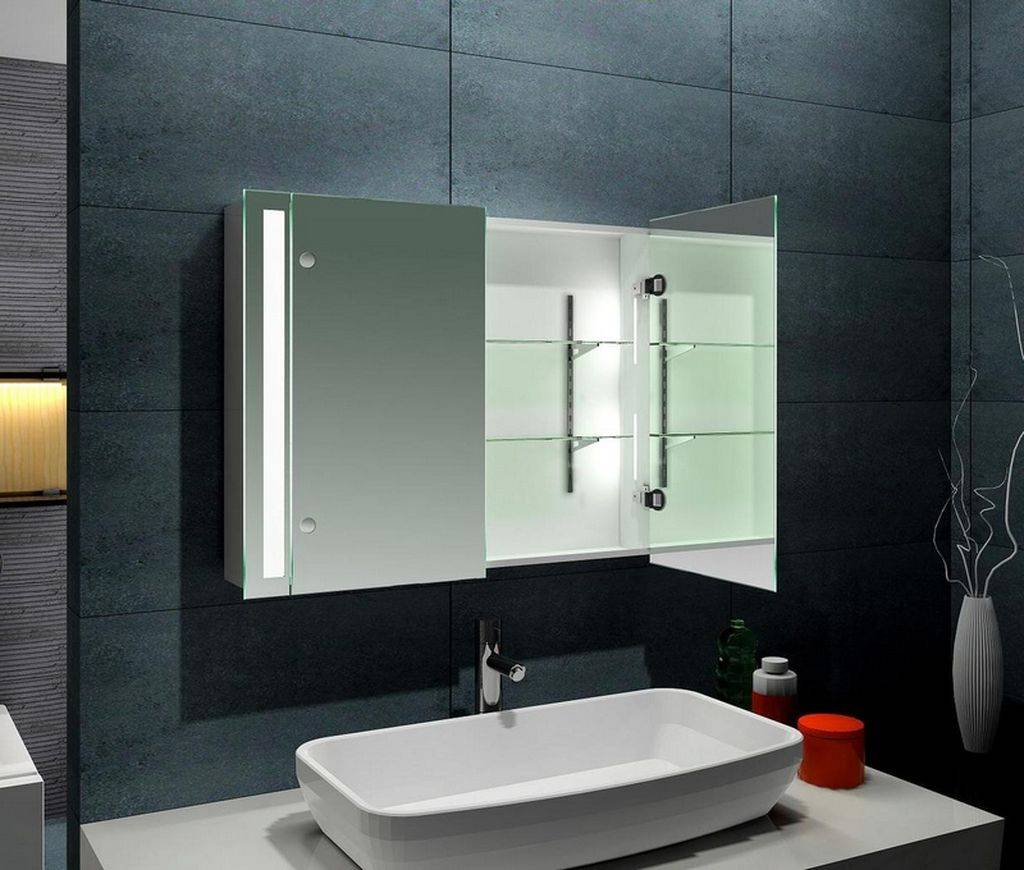 Какое должно быть расстояние между раковиной и зеркалом в ванной