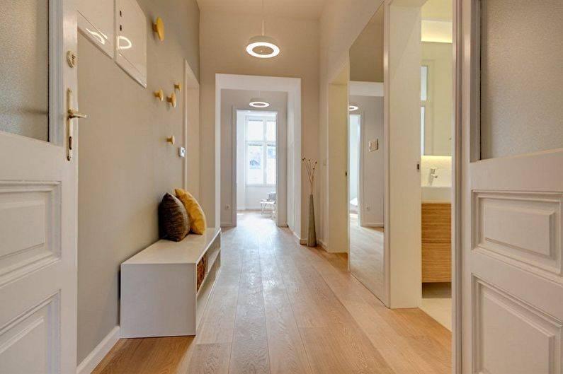 Дизайн и ремонт в прихожей в квартире с фото