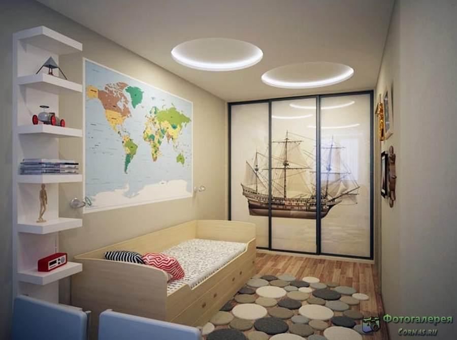 Комната для двоих разнополых детей: зонировать и совместить несовместимое