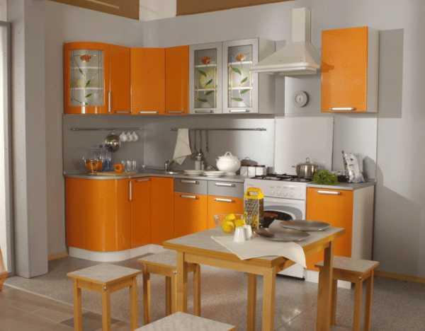 Кухня в персиковых тонах: какие цвета сочетаются в интерьере с персиковым - smallinterior