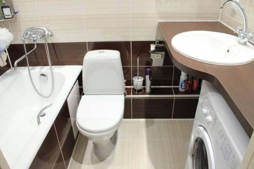 Ванная комната, совмещенная с туалетом -
