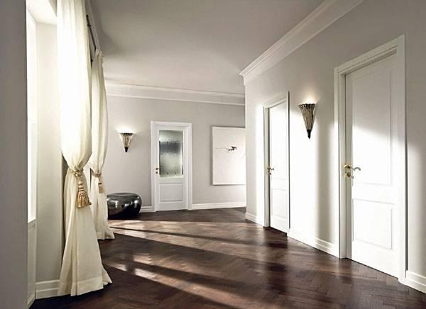 Цветные межкомнатные двери в интерьере квартиры: как выбрать цвет?