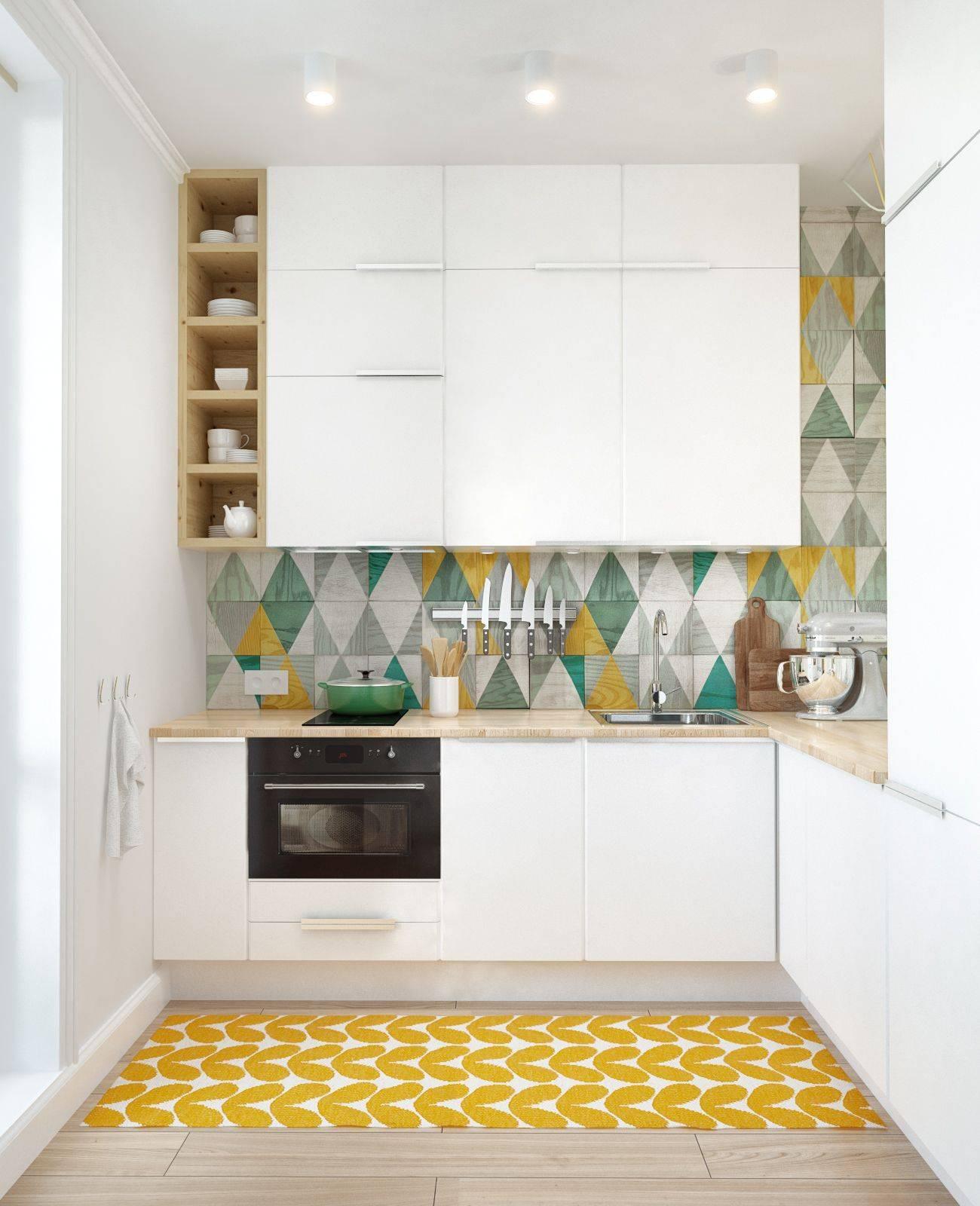 Угловые гарнитуры для маленькой кухни: 50 реальных фото, идеи дизайна в малогабаритных квартирах