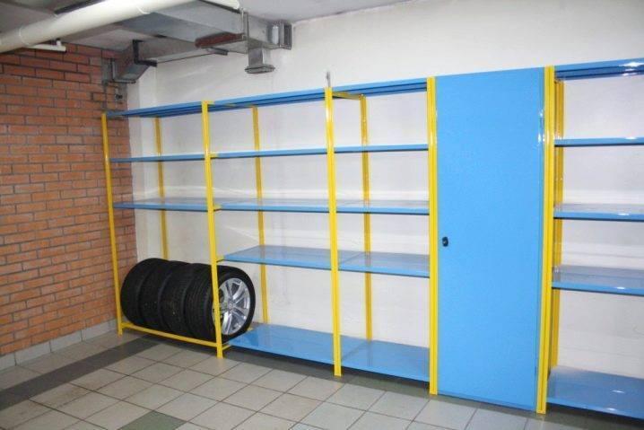 Стеллаж в гараж своими руками: как сделать настенные полки и конструкции для хранения инструментов