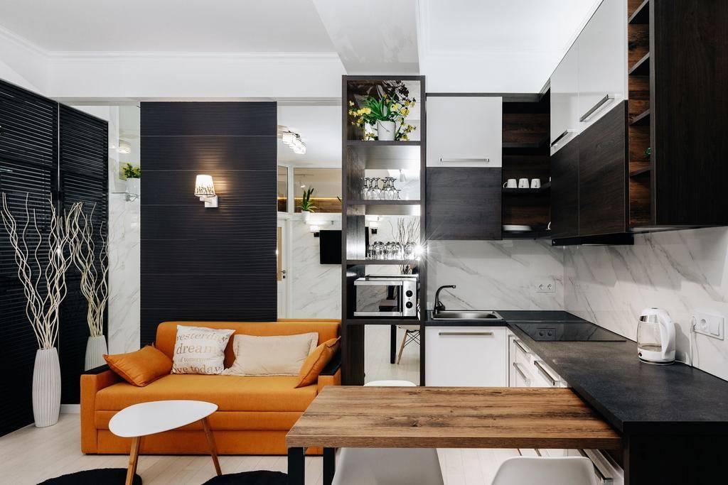 Кухня-гостиная площадью 15 кв. м (50 фото): дизайн интерьера комнаты размером 15 квадратов и планировка с диваном