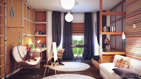 Детские спальни — 75 фото идей красивого дизайна для детской спальни