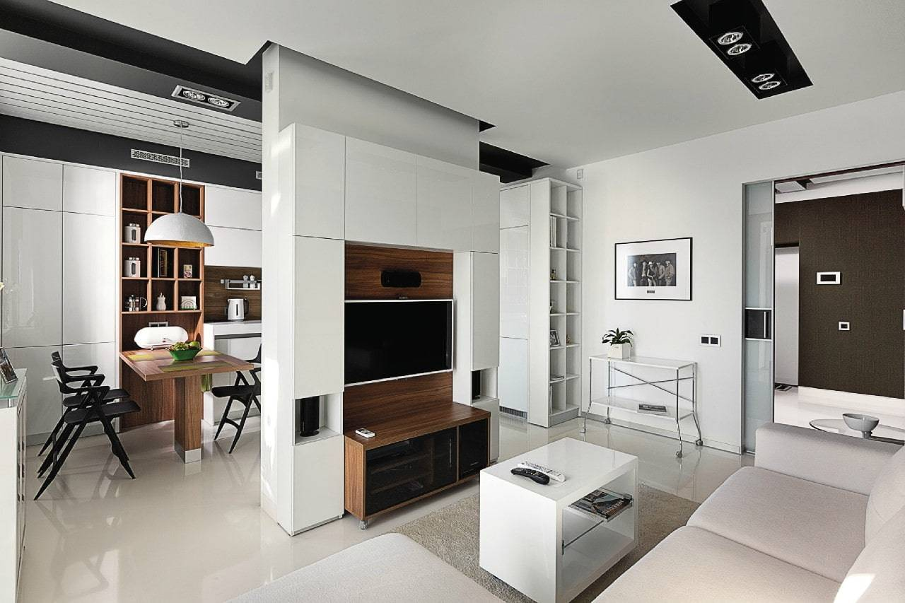 Топ-70 фото как оформить интерьер кухни-гостиной
