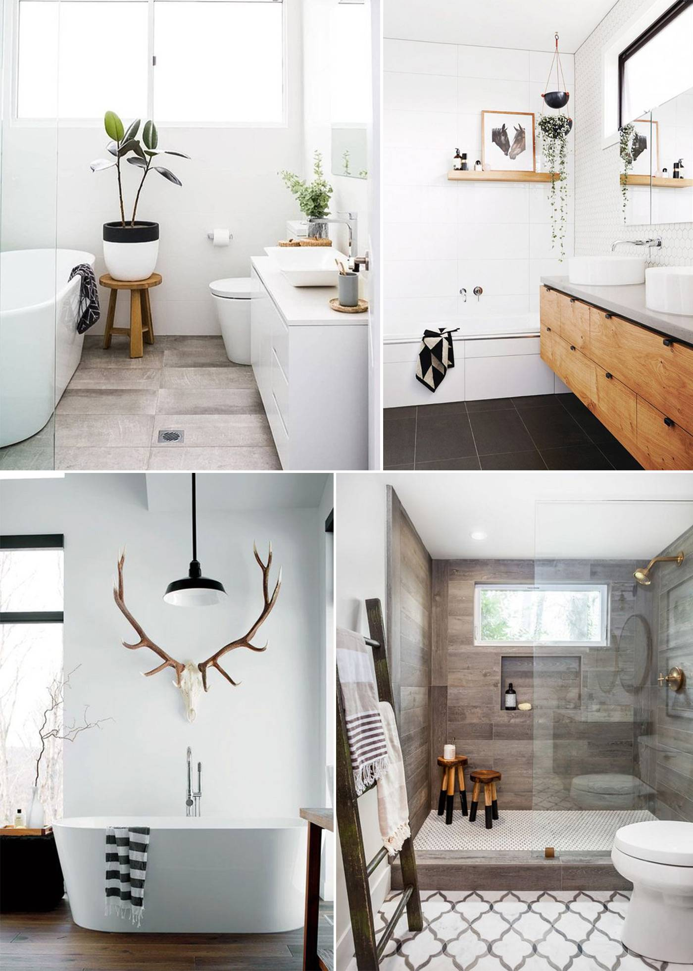 Ванная в скандинавском стиле - правила оформления и фото идеи