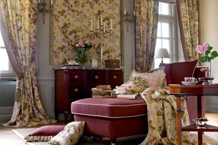Текстиль в интерьере