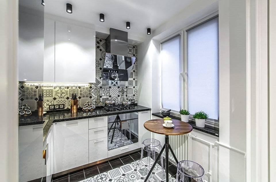 Дизайн кухни 6 кв м - фото новинки 2019 года