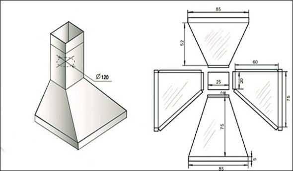 Мангал из газового баллона своими руками: чертежи с размерами, пошаговая инструкция - строительство и ремонт