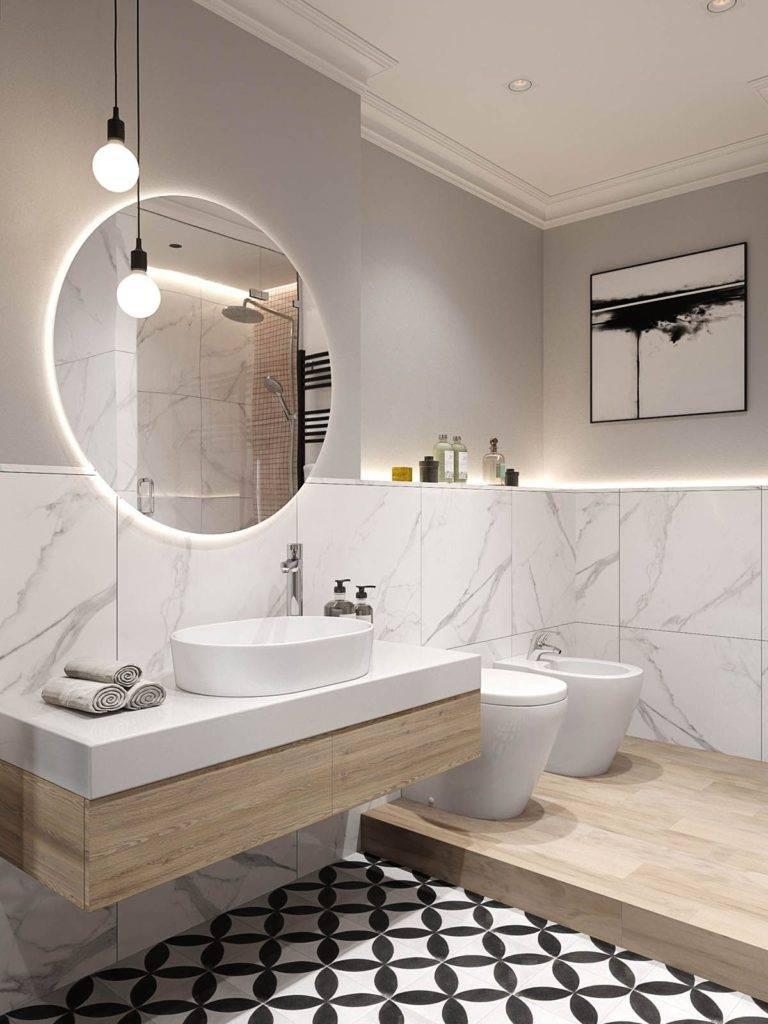 Дизайн ванной комнаты в скандинавском стиле (фото) – идеи интерьера