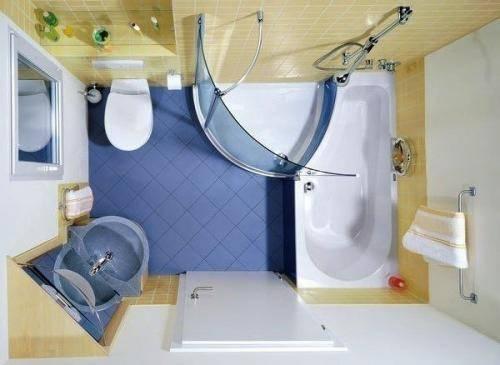 Дизайн совмещённого с ванной санузла: полезные советы по оформлению интерьера и фото галерея