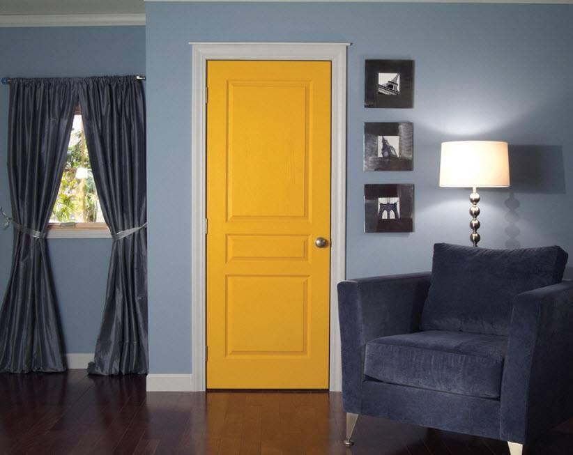 Цвет дверей (39 фото): миланские цветные, однотонные и двухцветные модели, итальянские полотна черного цвета, красивые сочетания оттенков орех и капучино