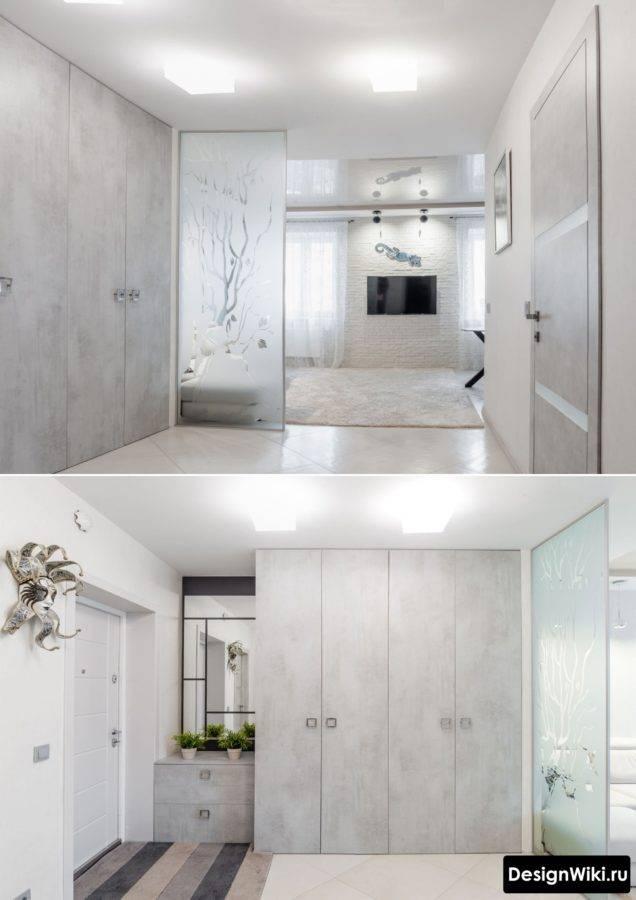 Дизайн прихожей в квартире в панельном доме - 40 фото современных решений