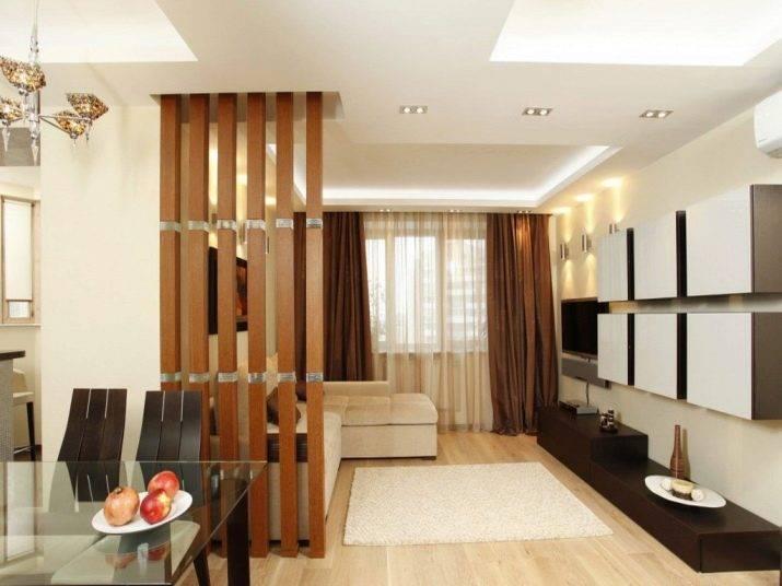 Особенности и разновидности перегородок между кухней и гостиной