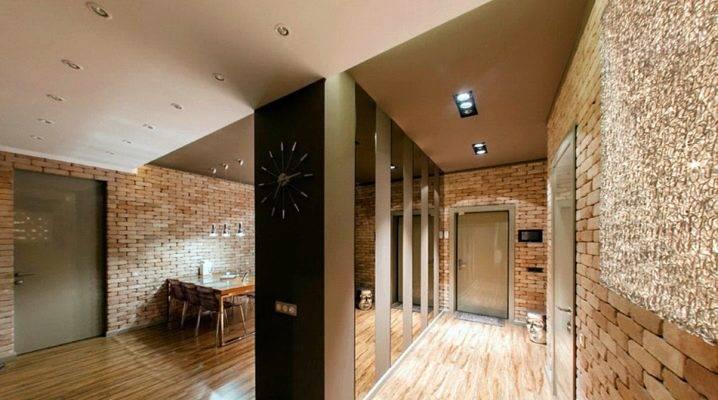 Декоративный камень в прихожей (81 фото): искусственный камень для внутренней отделки в коридоре, элегантные примеры в интерьере
