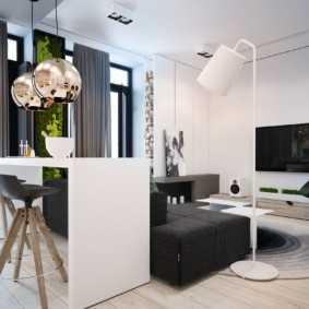 Уютная квартира (45 кв. м): советы по оформлению  15 фото