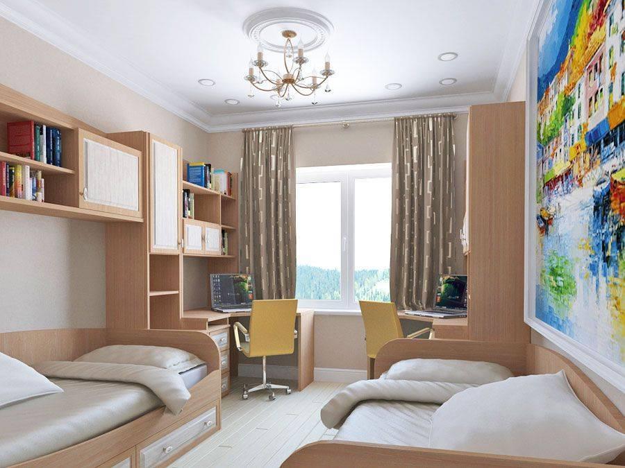 Детская комната для двоих — как ее обустроить?