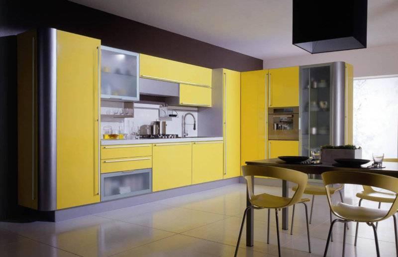 Желтая кухня - 115 фото красивых вариантов дизайна в современном стиле