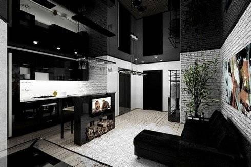 Как оформить квартиру-студию для холостяка